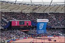 TQ3783 : Olympic Stadium, Stratford, East London by Christine Matthews