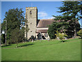 SP0867 : Church of the Holy Ascension, Mappleborough Green by Robin Stott