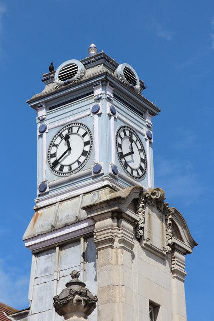 Tunbridge Wells Station clock tower