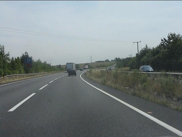 A14 near Coales's Lodge