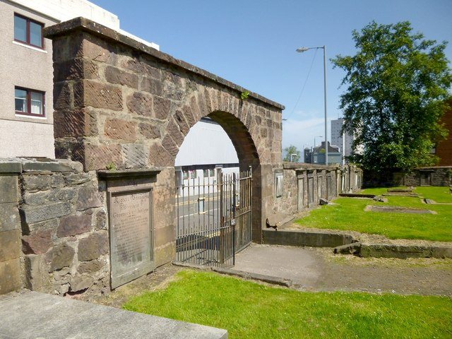 Entrance of burial ground