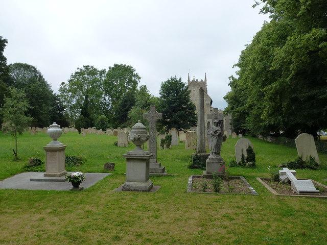 Church graveyard in Ramsey
