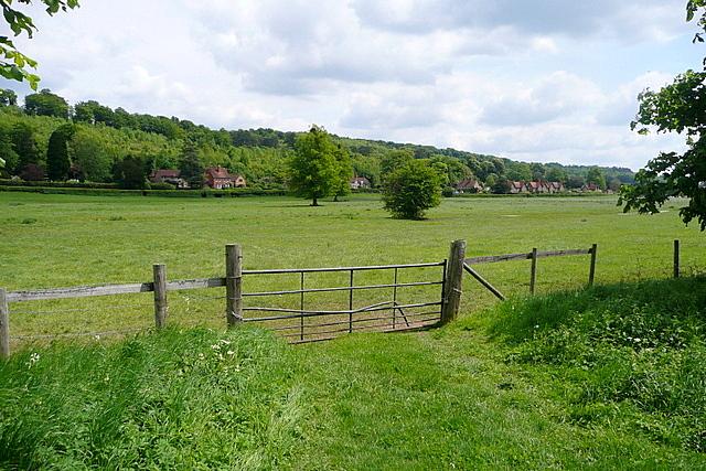 Across the Hambleden valley