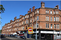 NS5564 : Corner of Paisley Road West & Copland Road, Glasgow by Leslie Barrie