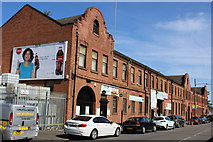 NS5564 : Business premises, Broomloan Road, Glasgow by Leslie Barrie