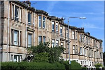 NS5564 : Copland Road, Glasgow by Leslie Barrie