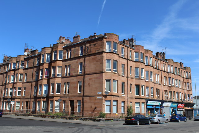 Corner of Harrison Drive & Copland Road, Glasgow