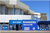 NS5564 : Rangers Megastore, Ibrox Stadium by Leslie Barrie