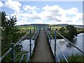 NU0202 : Footbridge over the River Coquet by Russel Wills