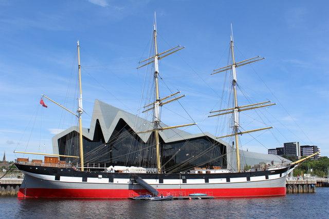 Tall Ship 'Glenlee' & Riverside Museum, Glasgow