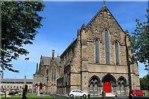 NS5565 : Govan Old Parish Church by Leslie Barrie