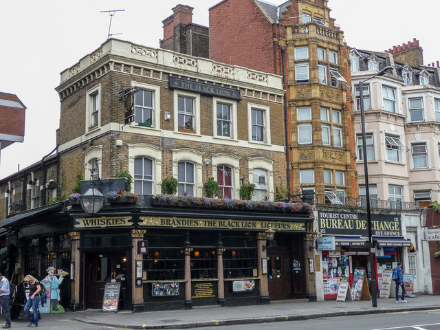 The Black Lion, Bayswater Road, London W2