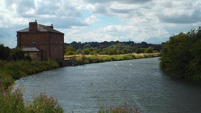 Bend in the River Lea, near Hertford