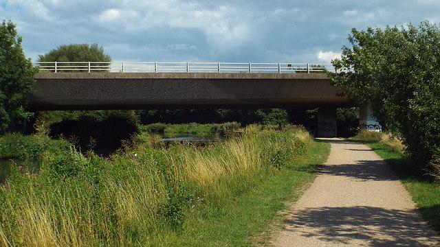 A10 bridge over the Lea near Ware