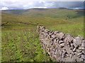 SD9284 : Dry Stone Wall near Shaw Gate by Mick Garratt