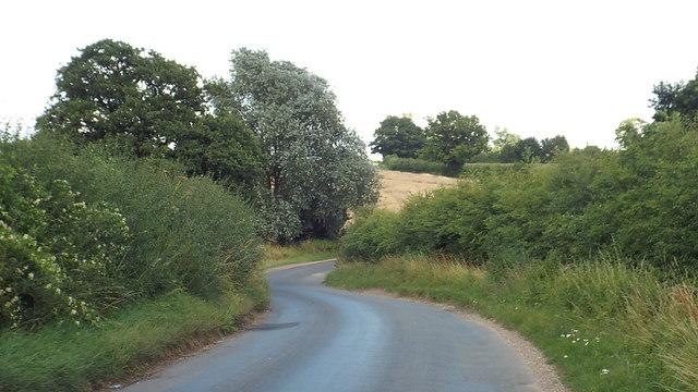 Country lane near Ware
