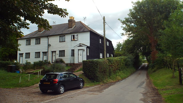 Houses at Baker's End, near Ware
