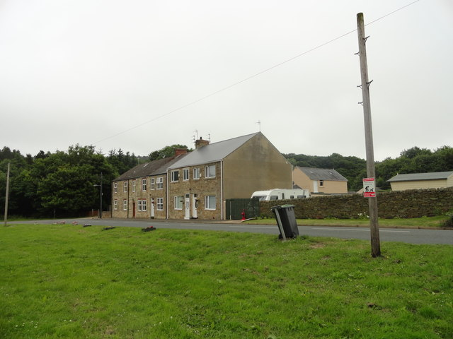 Houses at East Hedleyhope