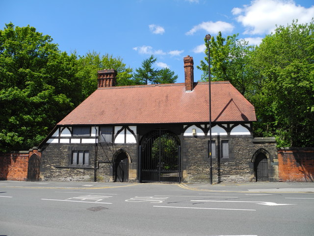 Gate House Entrance to Wigan Hall