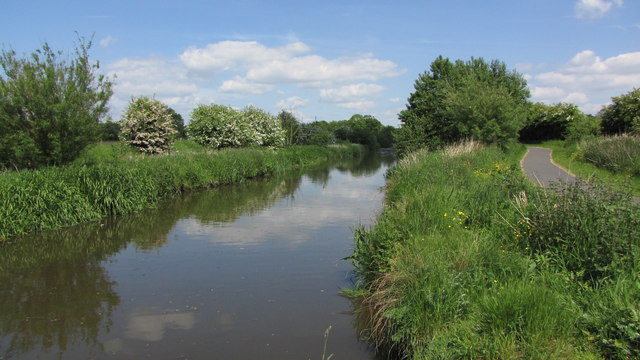 Millennium Ribble Link Canal at Lea