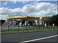 NZ2469 : Service station off the Great North Road by JThomas