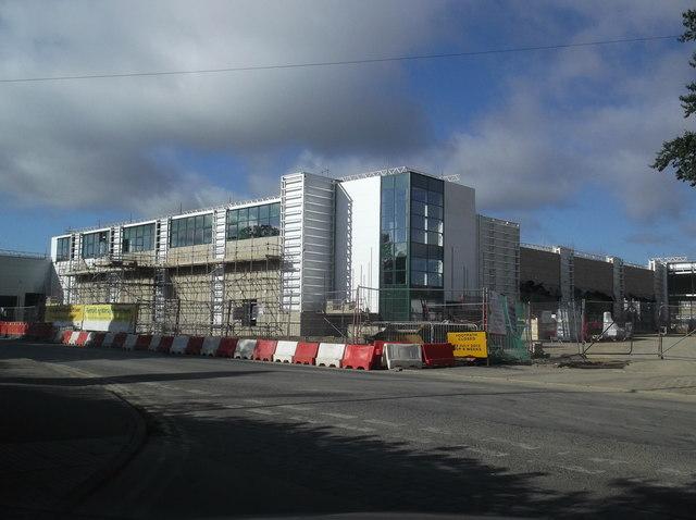 New Morrisons under construction