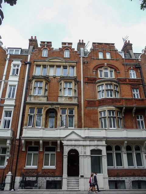 Interesting Houses, Hyde Park Place, Bayswater Road, London W2
