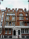 TQ2780 : Interesting Houses, Hyde Park Place, Bayswater Road, London W2 by Christine Matthews