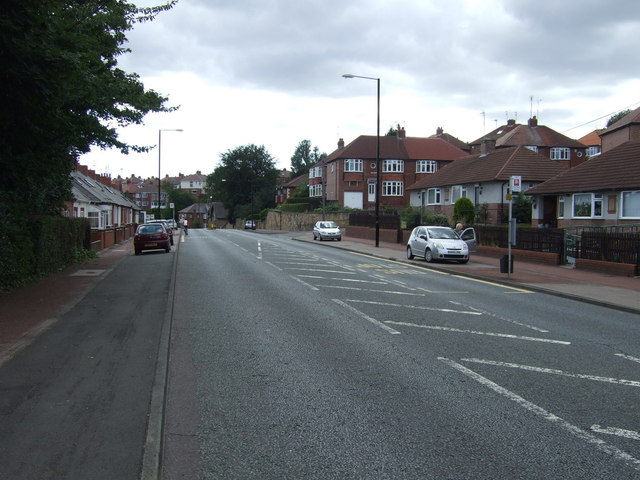 Haddricksmill Road (A189), South Gosforth