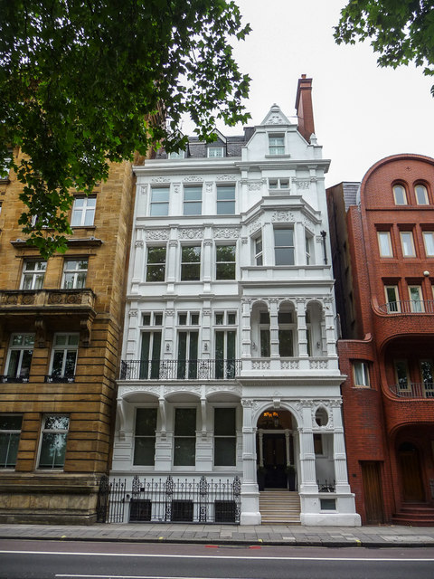 Interesting House, Hyde Park Place, Bayswater Road, London W2
