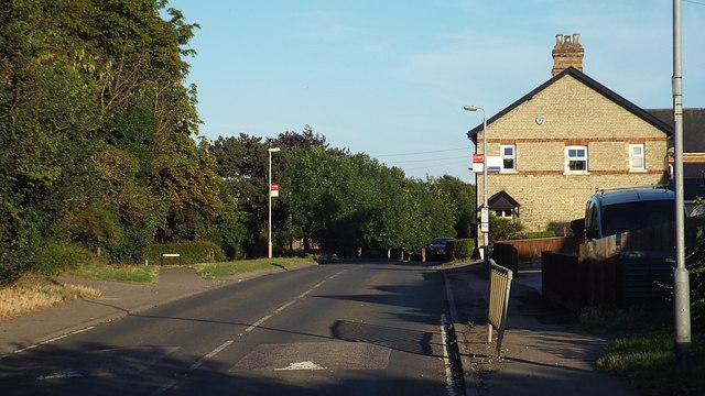 Ickleton Road, Duxford