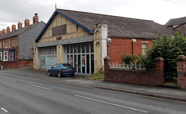 The Old Fire Station to let, Newtown