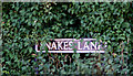 TM2793 : Snakes Lane sign by Adrian Cable