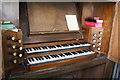 TF1681 : Organ console, St Mary's church, East Barkwith by J.Hannan-Briggs