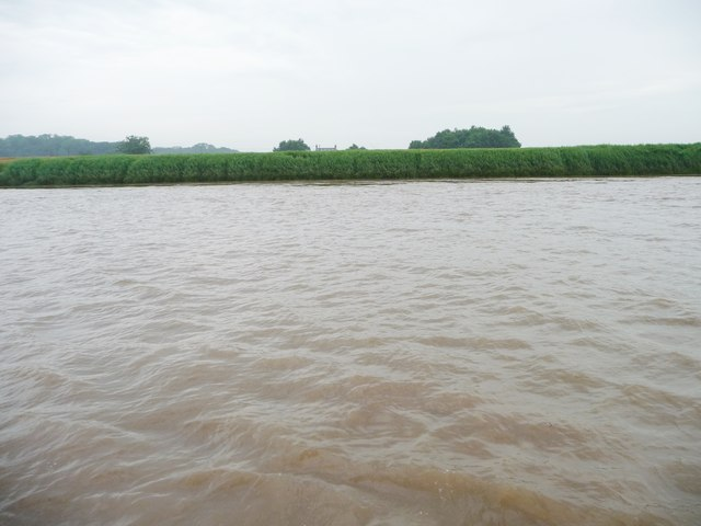 North bank of the Ouse at Cotness Roads