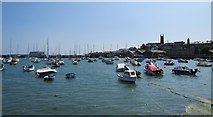 SW4730 : Penzance Harbour by Ian Knight