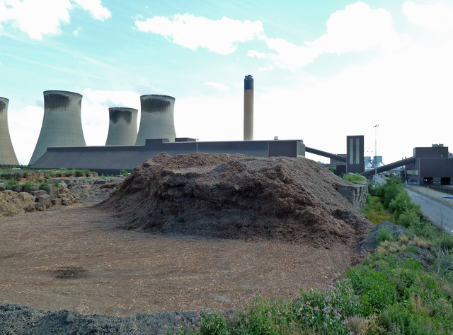 Drax Power Station - biomass and gypsum