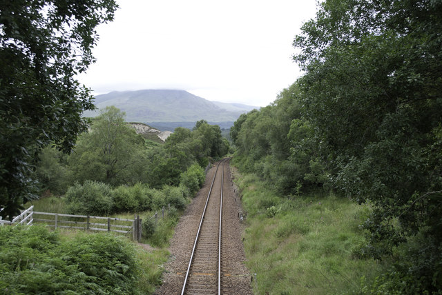 West Highland Line at Fersit