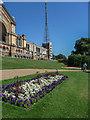 TQ2989 : Flowerbeds, Alexandra Palace, London N22 by Christine Matthews