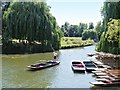 TL4458 : River Cam, Cambridge by David Dixon