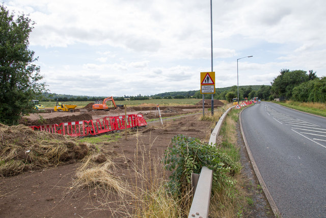 Work commences on new A429 roundabout