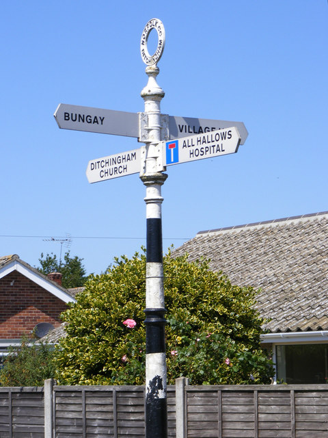 Roadsign on Hollow Hill Road