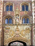 TL4458 : The Great Gate at St John's College by David Dixon