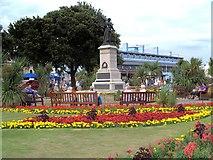 TM1714 : Memorial Garden and War Memorial, Clacton-on-Sea by David Dixon