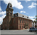NX4355 : Wigtown Town Hall by Andy Deacon