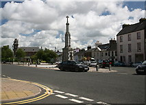 NX4355 : Wigtown Market Cross by Andy Deacon