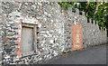 J5979 : Old wall, Donaghadee by Albert Bridge