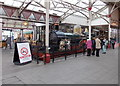SU9676 : The Queen replica steam locomotive in Windsor Royal Shopping by Jaggery
