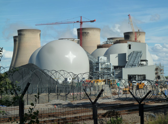 Drax Power Station - biomass infrastructure