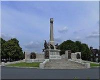 SJ3384 : War memorial Port Sunlight. by Richard Hoare